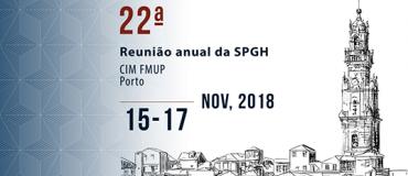 22 Reunión Anual de la Sociedad Portuguesa de Genética Humana
