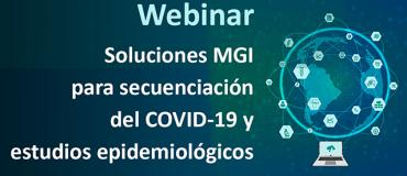 Webinar Soluciones MGI para secuenciación del COVID-19 y estudios epidemiológicos
