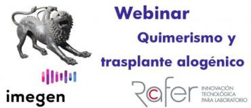 Webinar Quimerismo y Trasplante Alogénico