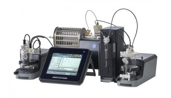 Medidor de humedad CA310 con doble canal volumétrico-columbimétrico y vaporizador VA300