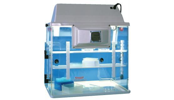 Cámara PCR (UV) 825 - Vista trasera