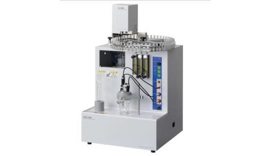 Analizador AOX-200 con inyector método columnas