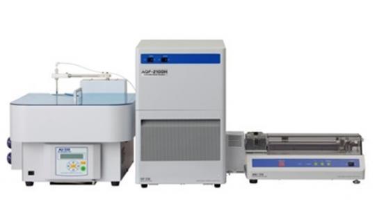 Unidad AQF con colector automático AU250 e inyector automático de navecilla
