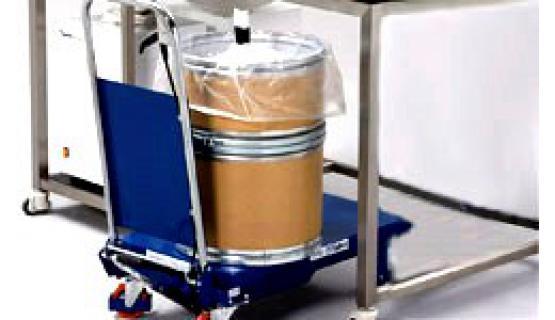 Cabina de pesada de polvo a granel - Bulk Powder