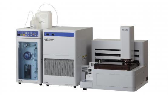 Unidad preparativa AQF2100 con automuestreador de sólidos