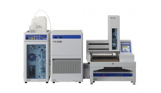 Unidad preparativa AQF2100 con automuestreador de líquidos