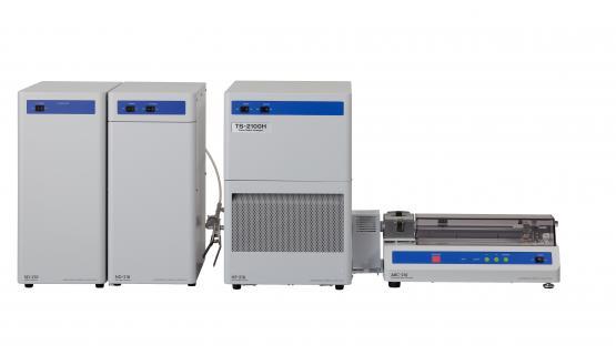 Sistema simultáneo Azufre y Nitrógeno total NSX2100 + modulo introducción por navecilla