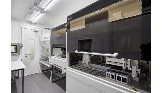 Laboratorio móvil de contención  SARSCoV-2