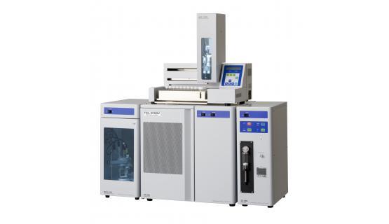 Analizador culombimétrico NSX2100V-MCD + automuestreador de líquidos + inyector de gases