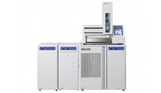 Sistema simultáneo Azufre y Nitrógeno total NSX2100V + automuestreador de líquidos