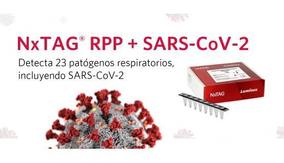 NxTAG® Panel para patógenos respiratorios + SARS-CoV-2