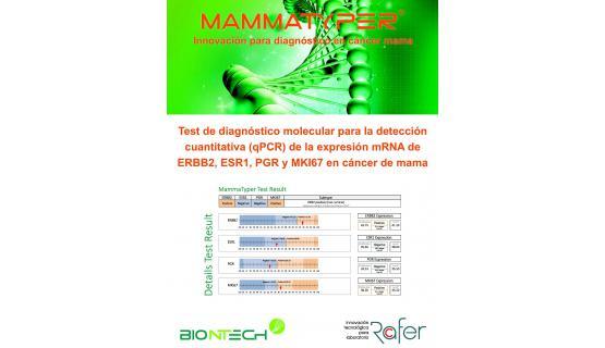 Innovador diagnóstico de cáncer de mama
