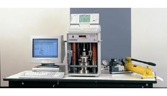 Opción System para medir resistividades en polvo
