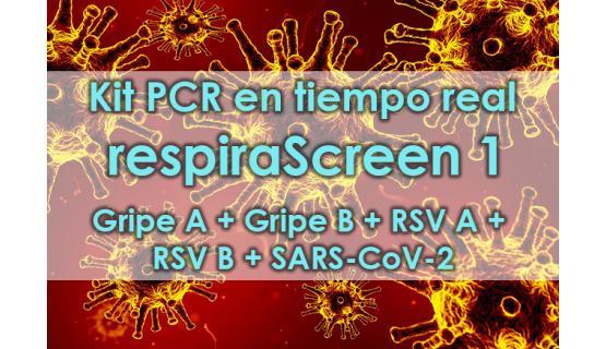Kit respiraScreen 1 Real Time PCR