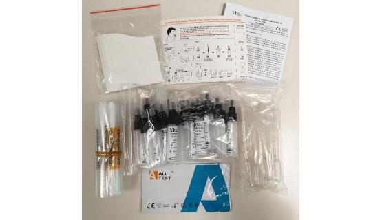 Test de antígeno a partir de muestra de saliva