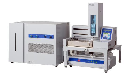 Analizador de Azufre y Halógeno Total TOX-300 + modulo inyección de líquidos