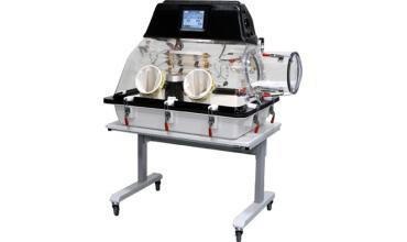 """La cámara 857-OTA permite de forma sencilla, seleccionando en su pantalla táctil a color la opción """"Go anaerobic"""" obtener una atmósfera anaeróbica, mediante el inicio de un proceso de purgado. Esta fase de purgado sólo necesita 300 litros de gas."""