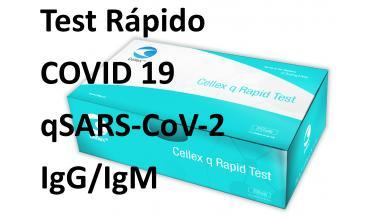 Test Rápido COVID 19 qSARS-CoV-2 IgG/IgM