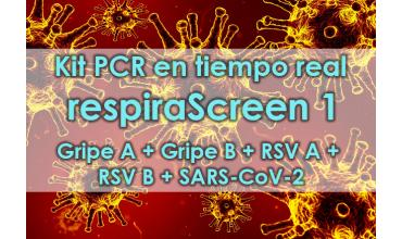 Kit respiraScreen 1 Real Time PCR
