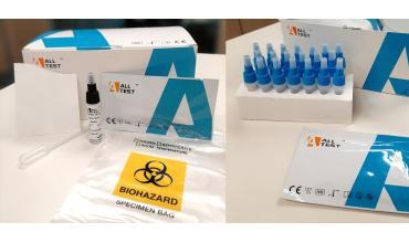 Test de antígeno a partir de muestra nasofaríngea o muestra de saliva