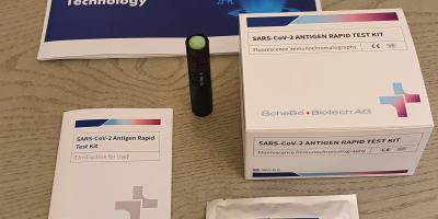 Test de antígeno a partir de muestra de suero title=