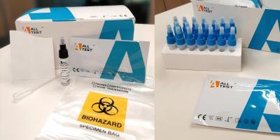 Test de antígeno a partir de muestra nasofaríngea o muestra de saliva title=